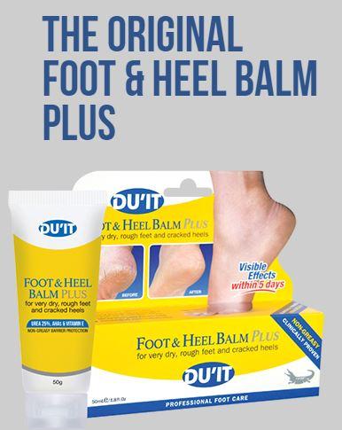 �ٻ�Ҿ���1 �ͧ�Թ��� : **�������**DU'IT Foot & Heel Balm Plus ��Ҵ���� 50 g. ������ҹ��������ᵡ�ʹ������� 5 �ѹ �Թ����͵�Ե�ҡ�������������� �����ҡѹ����÷���������Ƿ���蹨е�ͧ���ͺ���ǡѹ��ʵ�ͤ�ѹ�繡������ ������þ�س�ͧ��������ҡ� �ը�ԧ ��������
