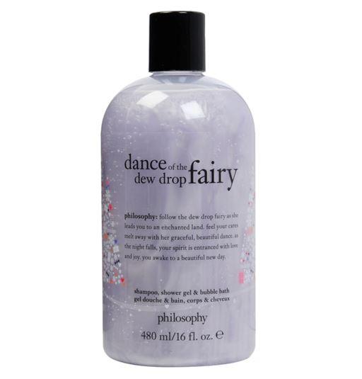 รูปภาพที่1 ของสินค้า : **พร้อมส่ง**Philosophy Shampoo, Shower Gel & Bubble Bath 480 ml. (Limited Edition) กลิ่น Dance of The Dew Drop Fairy เจลอาบน้ำกลิ่นหอมลิมิเต็ดอิดิชั่น กลิ่นหอมแนวฟรุตตี้ที่ให้ความรู้สึกร่าเริงสดใส พร้อมประสิทธิภาพ 3 ประการในหนึ่งเดียว สามารถใช้ทำความส