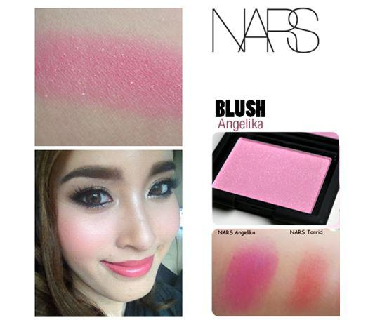 **พร้อมส่ง**NARS Blush Powder # Angelika